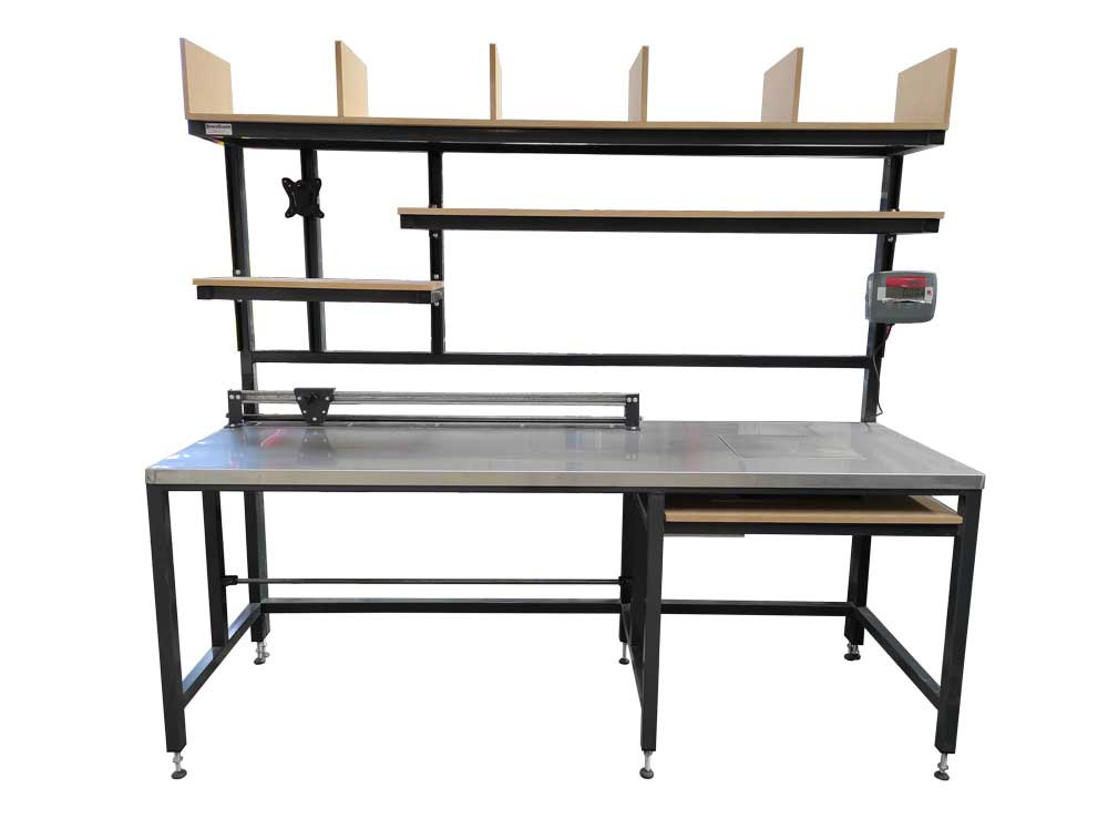 Steel Topped Packing Station