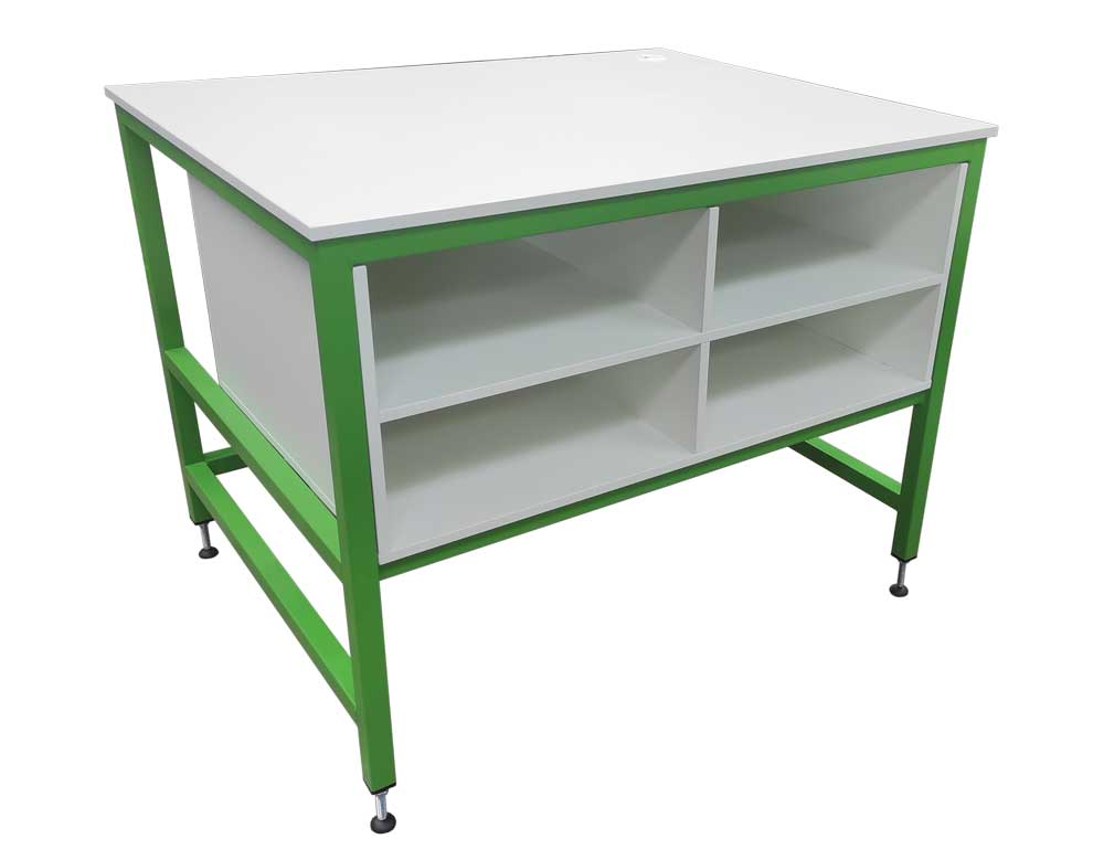 Green Packing Bench (#17871)
