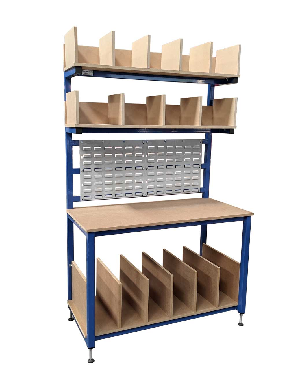 Packing bench with dividers (#18463)
